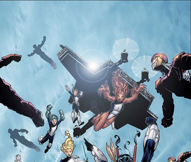 NEW X-MEN (2007) #16 COVER