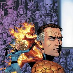 FANTASTIC FOUR: FOES (2005) #1 COVER