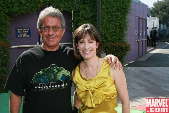 Universal Pictures Ron Meyer and Producer Gale Anne Hurd