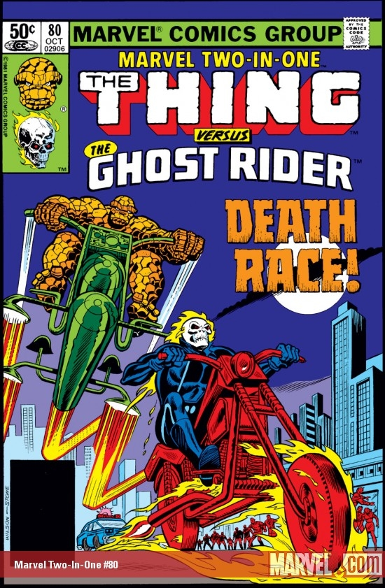 Marvel Two-In-One #80