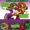 SHE-HULKS #1 recap page