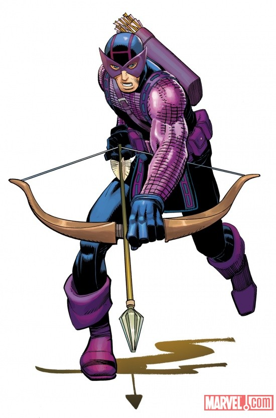 Hawkeye by John Romita Jr.