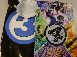 The Jonathan Hickman-signed variant of Fantastic Four #587