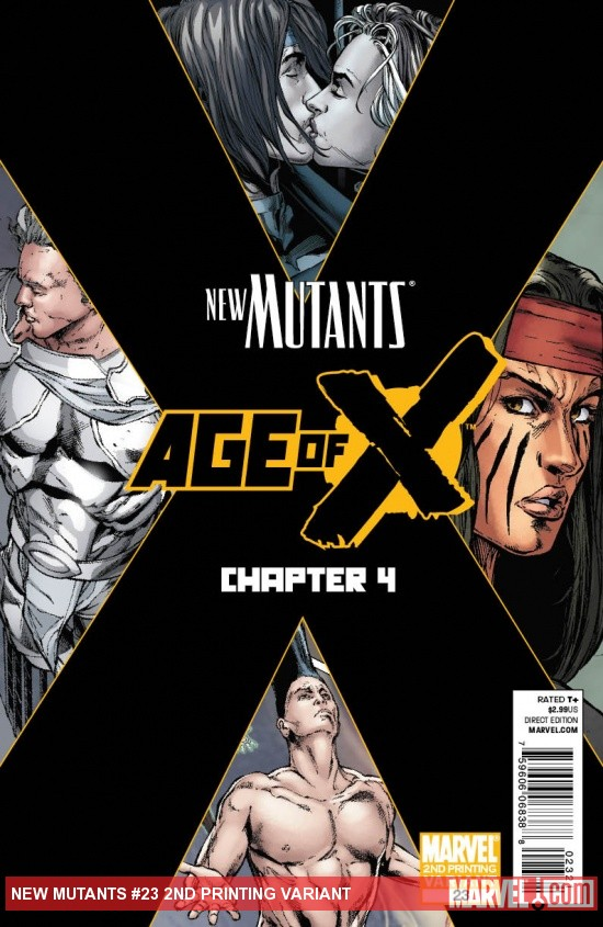 New Mutants #23 2nd Printing