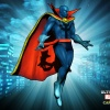 Alternate Doctor Strange skin from the Viewtiful Strange DLC pack for Ultimate Marvel vs. Capcom 3