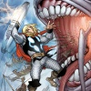 The Mighty Thor #9 Cover Art by Pasqual Ferry