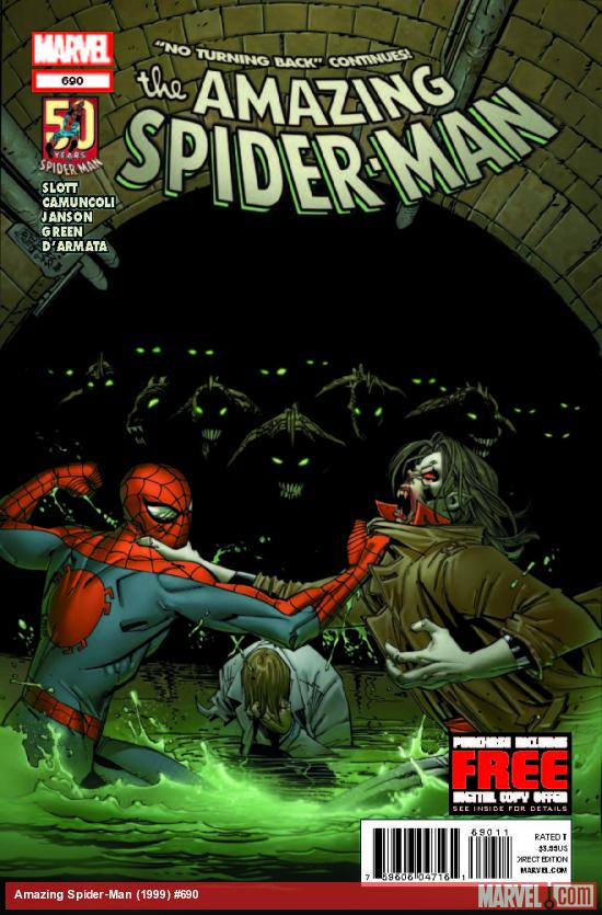 AMAZING SPIDER-MAN 690 (WITH DIGITAL CODE)