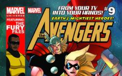 MARVEL UNIVERSE AVENGERS EARTH'S MIGHTIEST HEROES 9
