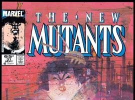 New Mutants (1983) #31 Cover