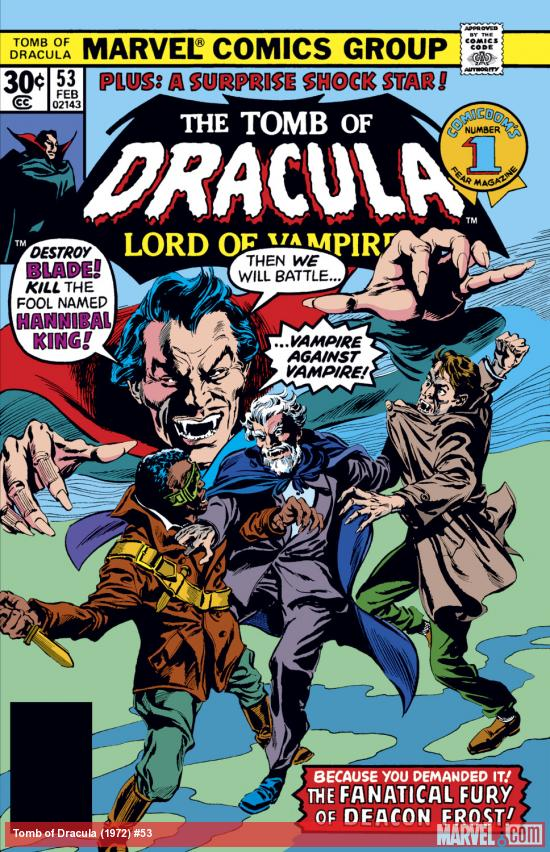 Tomb of Dracula (1972) #53 Cover