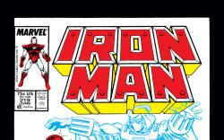 Iron Man (1968) #219 Cover