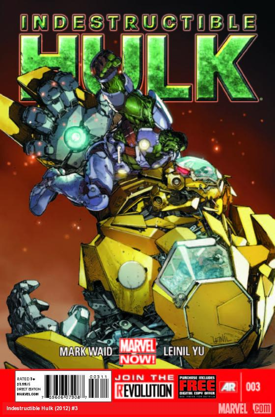 Indestructible Hulk (2012) #3