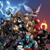 Image Featuring Hawkeye (Ultimate), Valkyrie (Ultimate), Ultimates, Captain America (Ultimate), Giant-Man (Ultimate), Iron Man (Ultimate), Wasp (Ultimate)