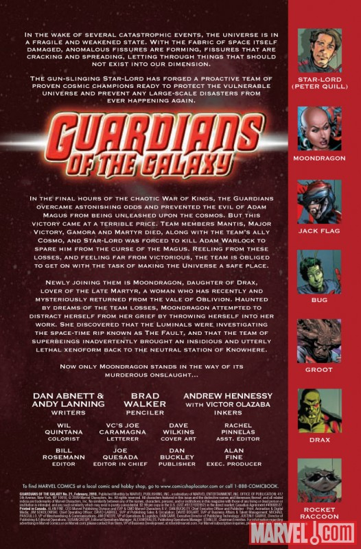 GUARDIANS OF THE GALAXY (2008) #21