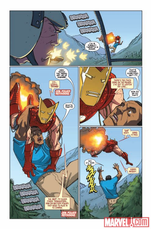 Iron Man & the Armor Wars (2009) #3