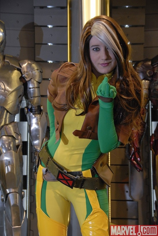 Rogue at the Marvel Costume Contest
