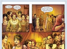 PRIDE & PREJUDICE #1 preview art by Hugo Petrus