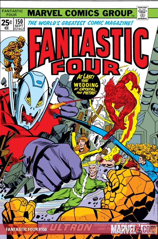 FANTASTIC FOUR #150
