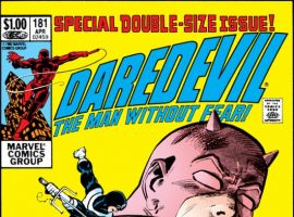 DAREDEVIL #181 COVER