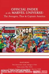 Avengers, Thor &amp; Captain America: Official Index to the Marvel Universe #5 