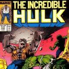 INCREDIBLE HULK #332 cover