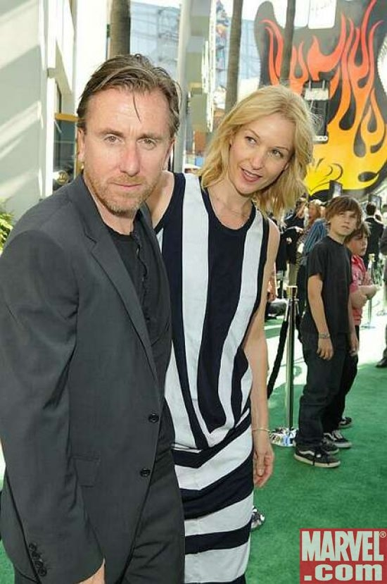 Tim Roth and wife Nikki Butler