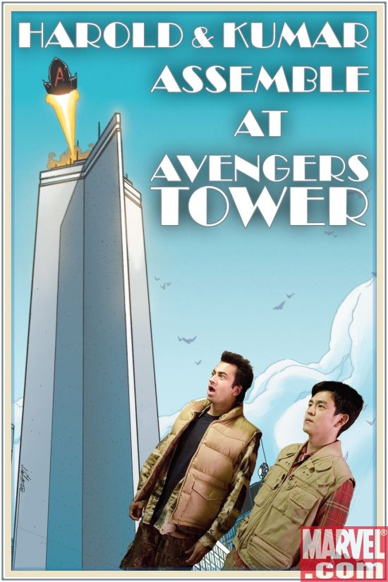 Assemble at Avengers Tower