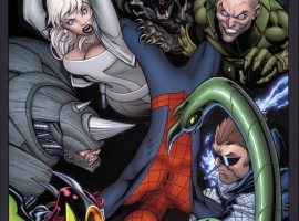 Ultimate Comics Spider-Man #153 cover by Ed McGuinness