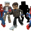 Spider-Man, Uncle Ben, Aunt May, Minimates from Diamond Select Toys