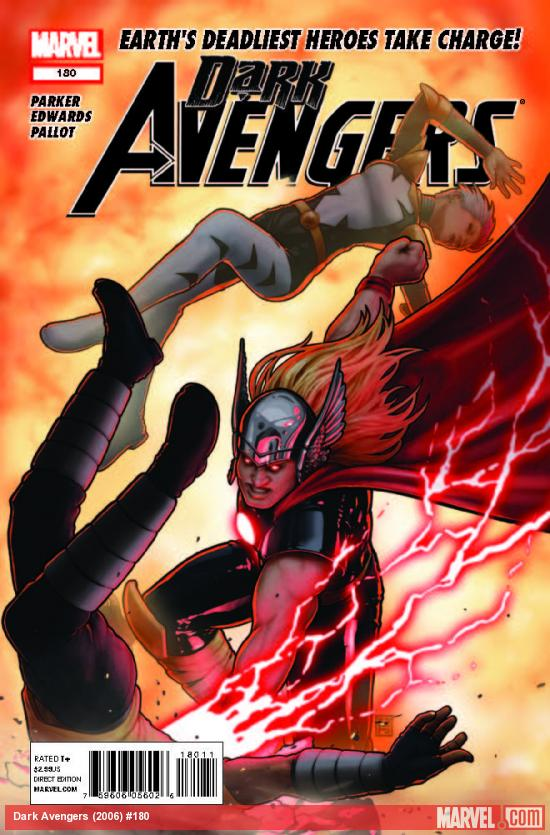 DARK AVENGERS 180