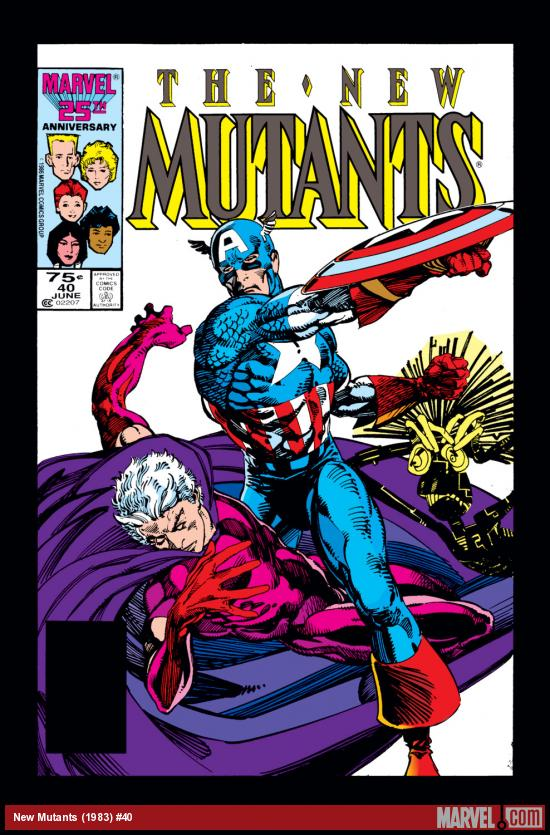 New Mutants (1983) #40 Cover