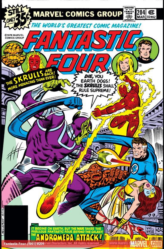 Fantastic Four (1961) #204 Cover