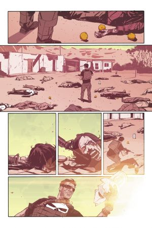 The Punisher (2014) #2 preview art by Mitch Gerads