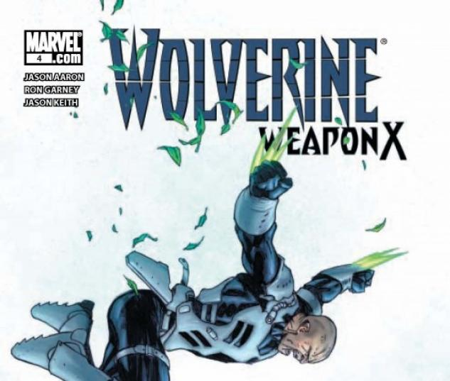 WOLVERINE WEAPON X #4