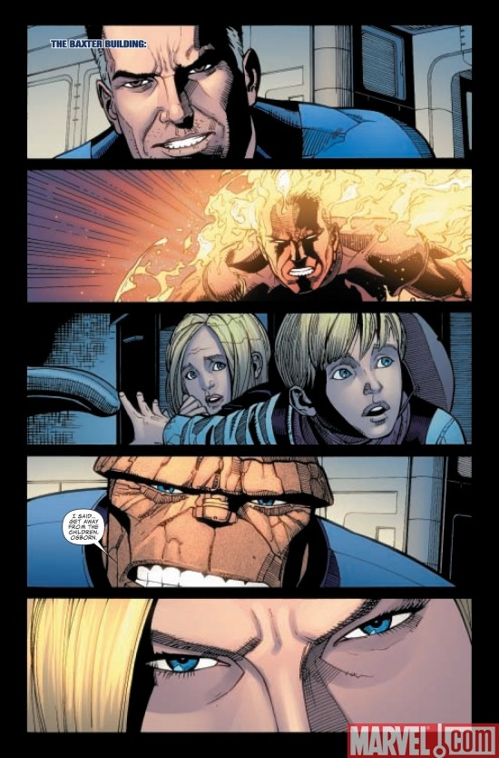 DARK REIGN: FANTASTIC FOUR #5, page 1