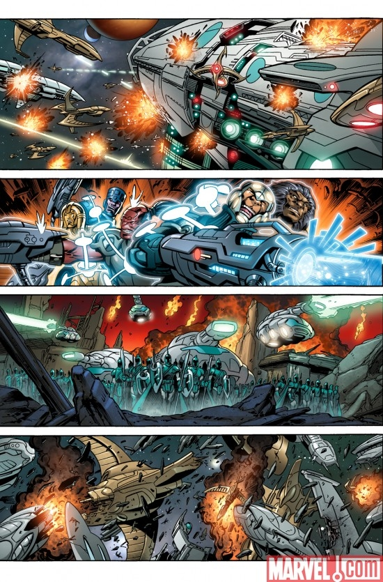 WAR OF KINGS preview page 4