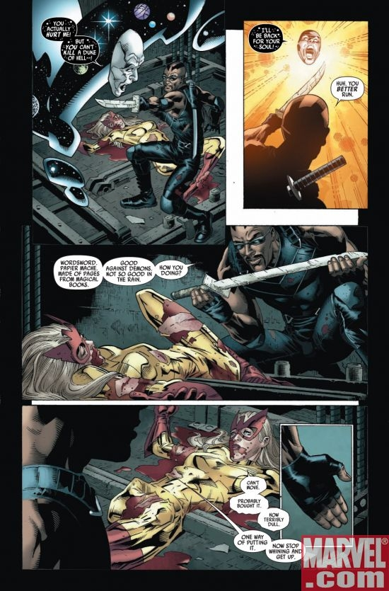 CAPTAIN BRITAIN AND MI13 #8, page 5