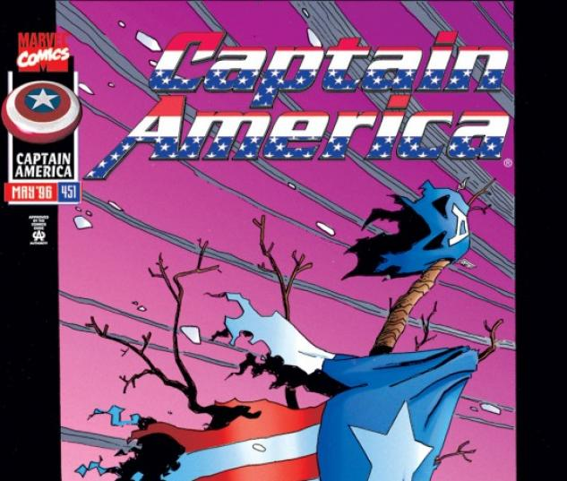 CAPTAIN AMERICA #451 COVER