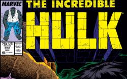 INCREDIBLE HULK #350 COVER