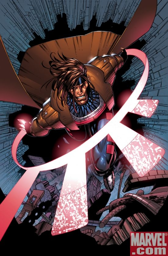 Gambit from the comics