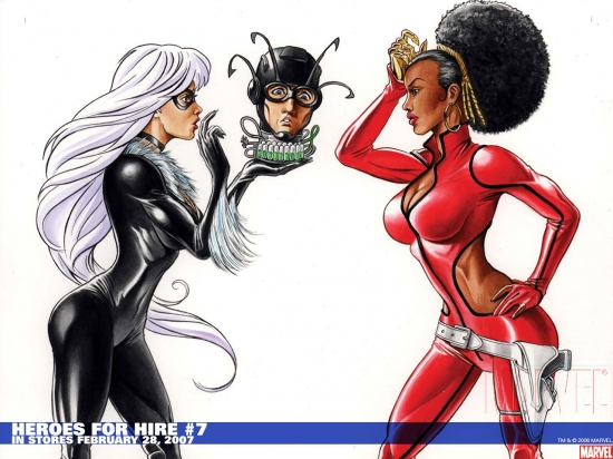 Heroes for Hire (2006) #7 Wallpaper