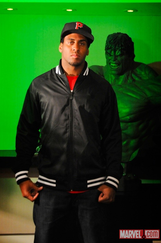 Steve Breaston and The Hulk