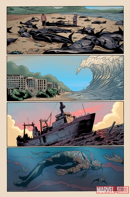 Fear Itself: The Deep #1 Preview 1