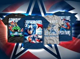 Marvel Teams Up With the Dallas Cowboys