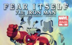 FEAR ITSELF 7.3 IRON MAN VARIANT