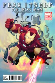 Fear Itself 7.2: Thor #1  (IRON MAN VARIANT)