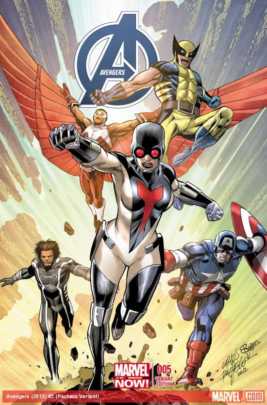 cover from Avengers (2012) #5 (PACHECO VARIANT)