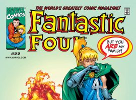 Fantastic Four (1998) #22 Cover
