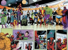 Deadpool's Secret Secret Wars #1 preview art by Matteo Lolli
