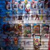 Marvel Transformers action figures at the Hasbro Showroom